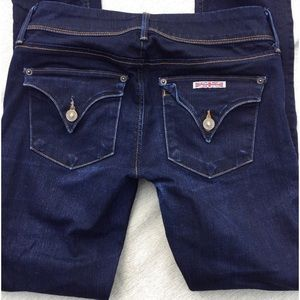 Hudson Collin Flap Pocket Skinny Jeans 26